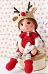 Мобильный LiveInternet вязаная кукла Оливия | Риоритта - Вязаные игрушки |