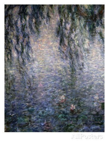 Le Matin Clair Aux Saules, Bright Morning with Willow Trees, from a Series of 8 Giant Canvases Giclee Print by Claude Monet at AllPosters.com