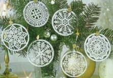 snowflakes crochet 175