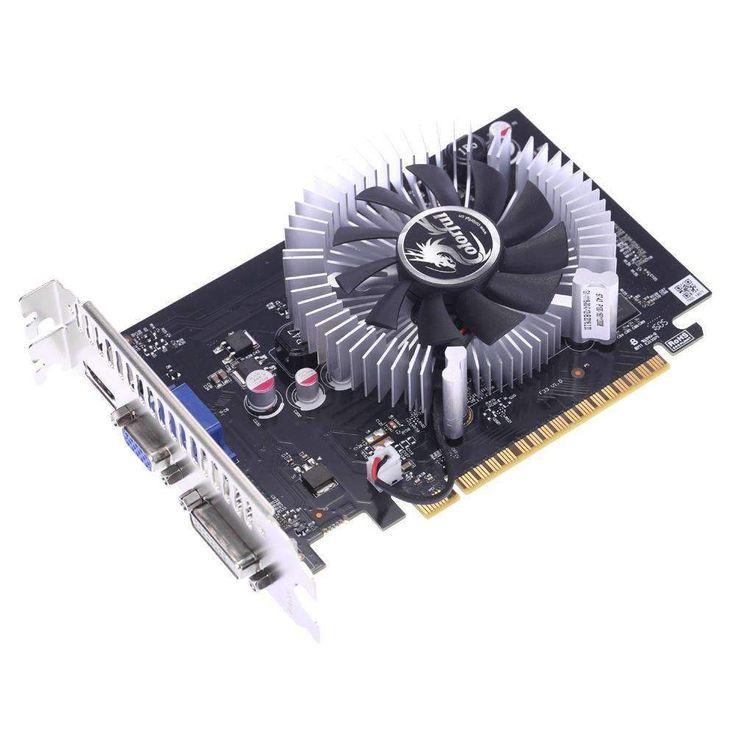 NVIDIA GeForce GT 730 GPU 2GB 64bit DVI+VGA+HDMI Port GDDR5 PCI-E X16 2.0:BiBset.com