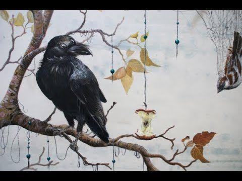 """Artist Lisbeth Thygesen about """"Caught in a net"""""""