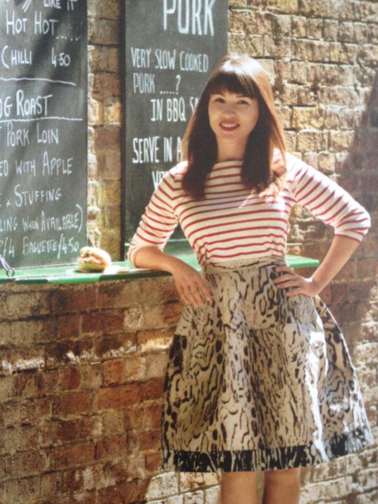 Rachel Khoo in Vogue