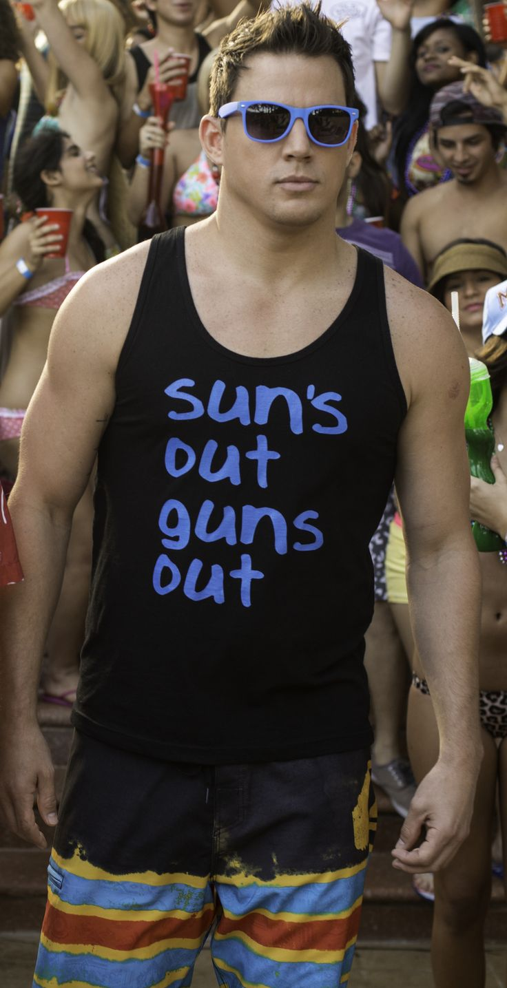 Channing Tatum in 22 Jump Street