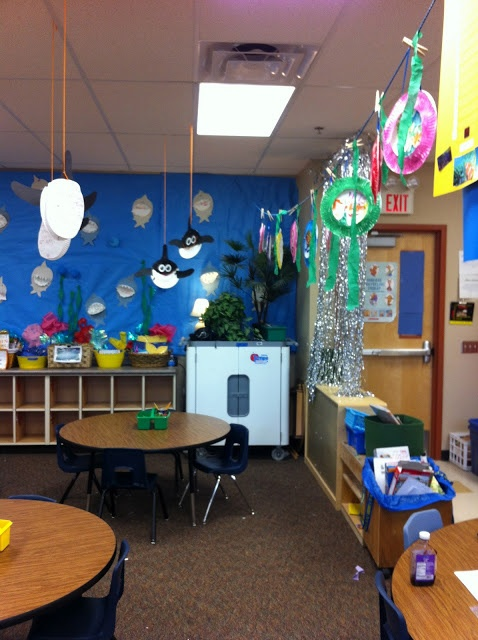 159 best images about ocean preschool theme on pinterest for Activity room decoration