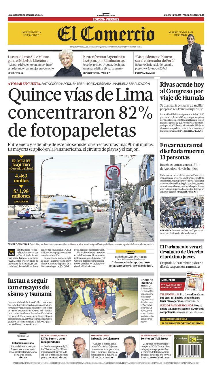 Edición Impresa | El Comercio