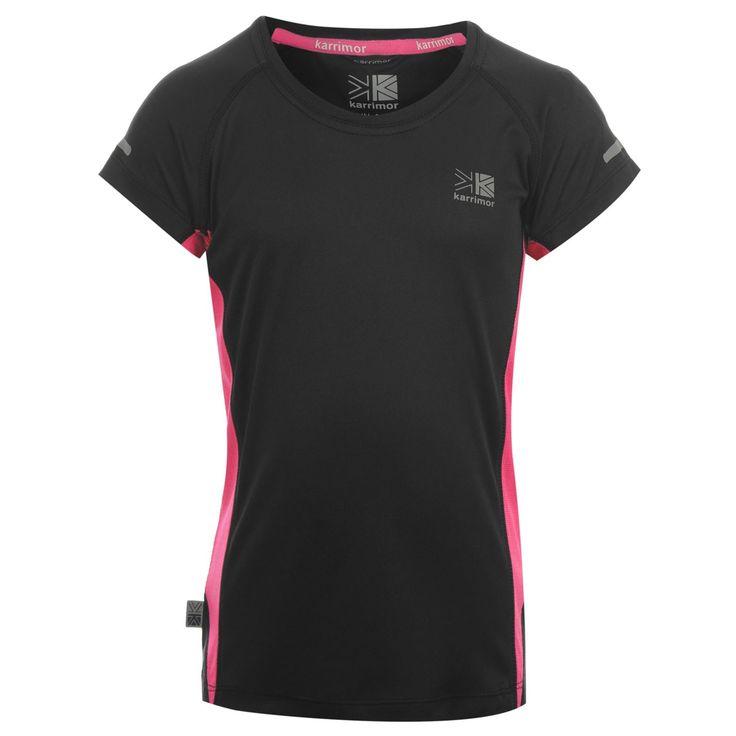 Karrimor | Karrimor Short Sleeve Run T-Shirt Girls | Girls Clothing