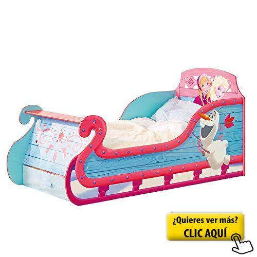 Disney Frozen trineo para cama infantil con... #cama