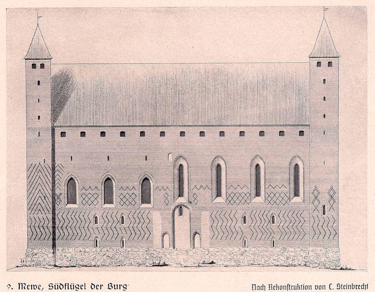 Muzeum Archeologiczne w Gdańsku oddział w Gniewie (Zamek Krzyżacki), Gniew - 1890 rok, stare zdjęcia