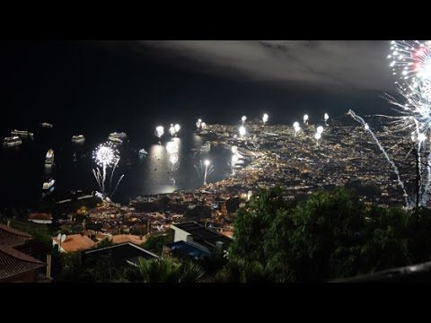 New Year's Eve in Madeira 2016 2017 - Show of Fireworks (no sound)