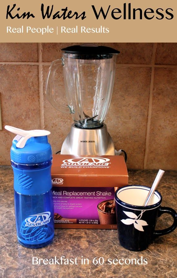 Breakfast in 60 seconds: 3 ways to prepare your meal replacement shake.