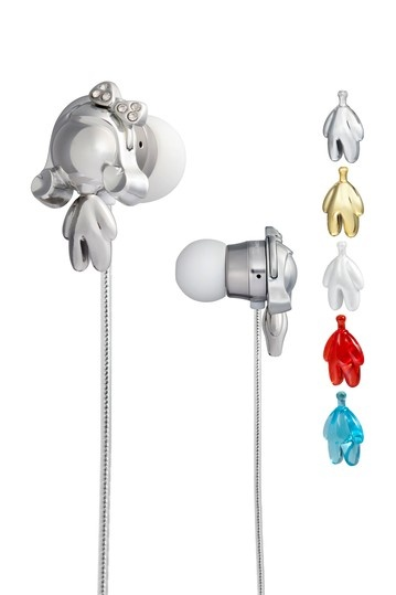 Monster Beats  Harajuku Lovers Space Age In-Ear Headphones from Monster Featuring Interchangeable Gwen Bodies