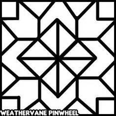 barn quilt square pattern - Yahoo Image Search Results