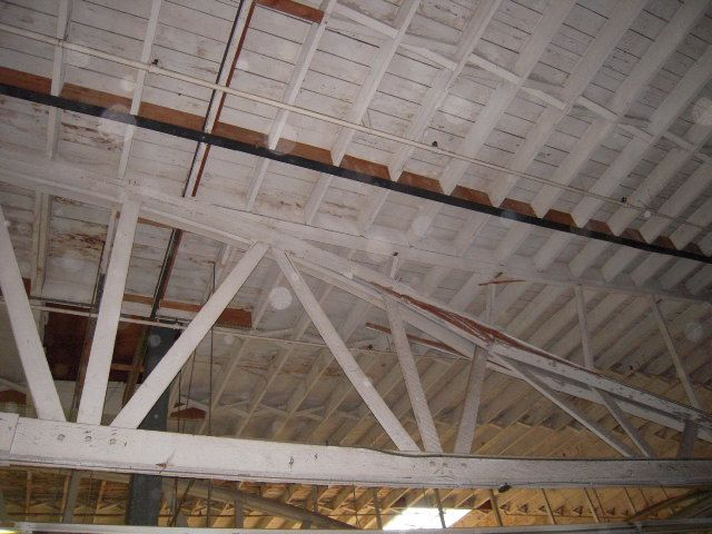Wood Truss Repair : Best images about bowstring truss roof on pinterest