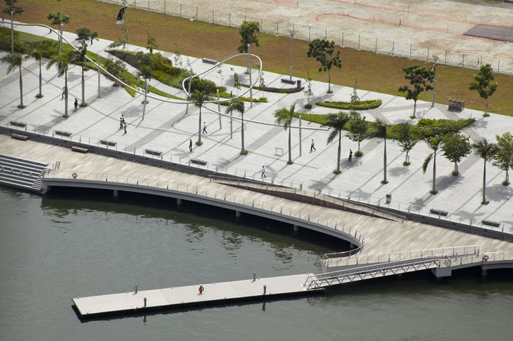 Marina Bay Waterfront Promenade by Cox Architects and Planners in Singapore, Singapore