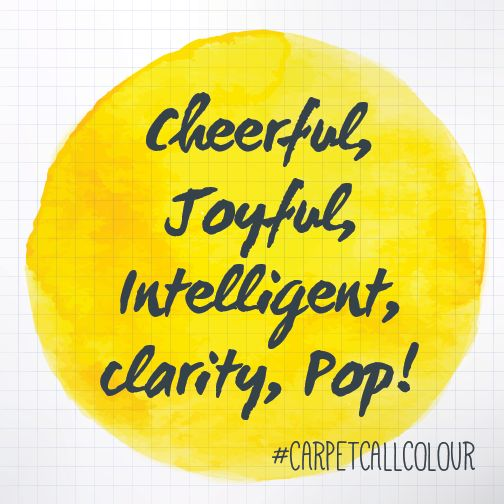 Learn all about yellow with our colour series!   http://www.carpetcall.com.au/blog/8-colour-meanings-to-help-you-choose-the-perfect-rug/