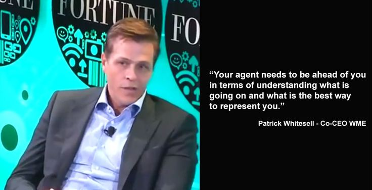 Hear It From An Agent: William Morris Endeavor Co CEO Patrick Whitesell Discusses the Future of Content