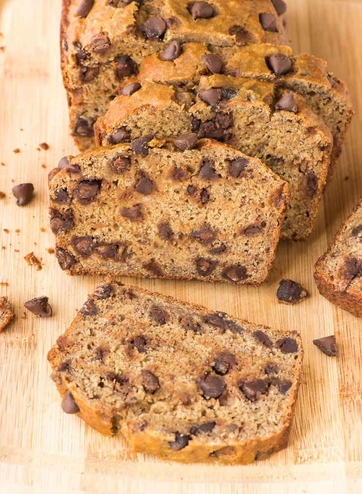 The BEST Healthy Banana Bread Recipe. So soft and tender, you'll never know it's made with Greek yogurt. The chocolate chips are the perfect indulgence! @wellplated