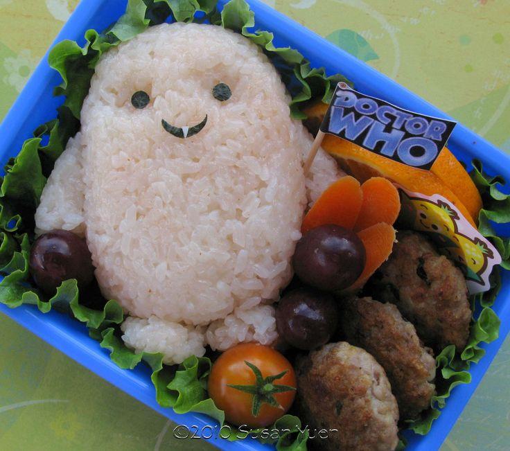 adipose: Bento Lunches, Bento Boxes, Adipo Bento, Kids Lunches, Lunches Boxes, Doctors Who, Dr. Who, Kids Food, Awesome Mom