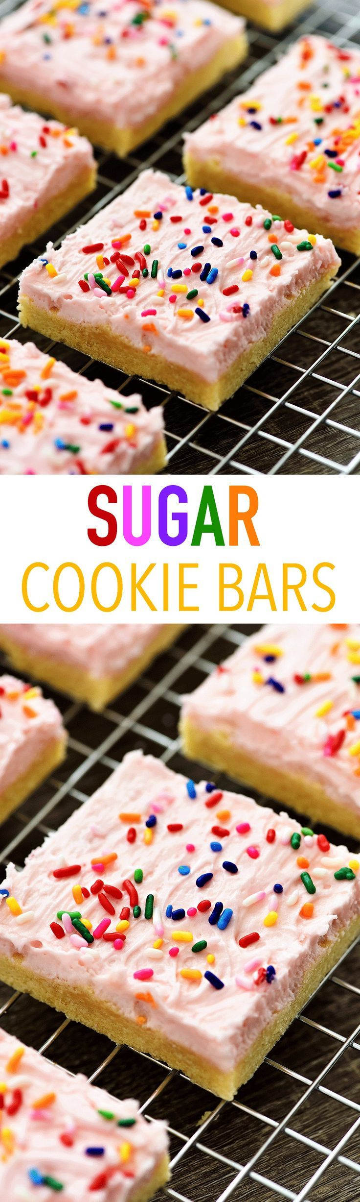 I love a soft, frosted homemade sugar cookie! ♥ They are famous on Valentines Day, and since it's right around the corner I thought I'd share this outstanding recipe for Sugar Cookie Bars! These bars are phenomenal! Seriously, amazing! And bonus they are so much easier to make than the traditional sugar cookie. No chilling the dough, or rolling and cutting.... Read More »: