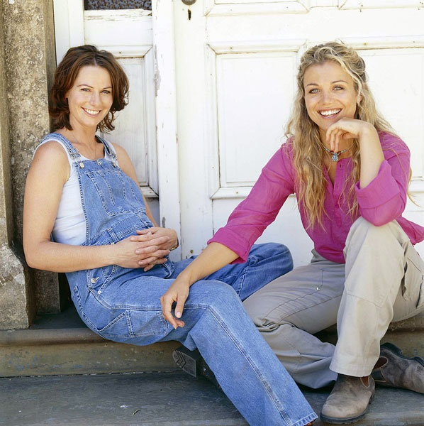 McLeods Daughters. Great tv, show. Claire and Tess. Portrait, photo, natural beauty.