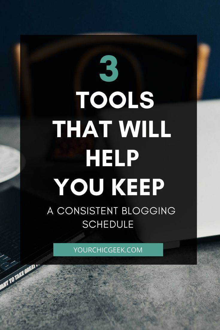 Struggling with how to blog consistently? Read this blog post to learn the 3 tools that will help you keep a consistent blogging schedule.
