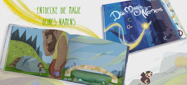 Geschenkidee für Kinder: Ein personalisiertes Kinderbuch