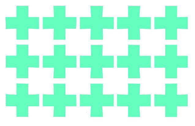 plusjes muurstickers zijn 38x38 mm, er zitten er 15 op een vel. Ze zijn gemaakt van een matte stickerfolie van zware kwaliteit. De stickers zijn makkelijk verwijderbaar en opnieuw te gebruiken. Zowel binnen als buiten toepasbaar. Verkrijgbaar in de kleuren zwart, wit, mintgroen, roze, fuchsia roze, blauw, marine. Kinderkamer babykamer decoratie.