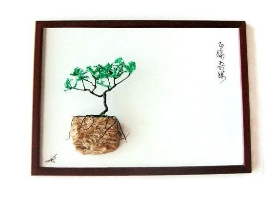 Zen Wall Decor Wall Diorama Wall Decor Zen by NikibarsNatureArt
