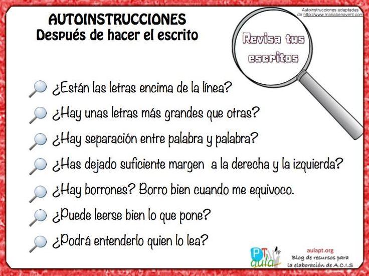 autoinstrucciones disgrafía1