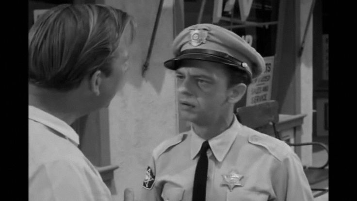 The Andy Griffith Show Barney's Uniform , | Mayberry ...