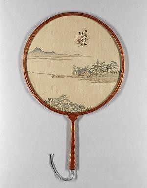 19th century Japanese fan.