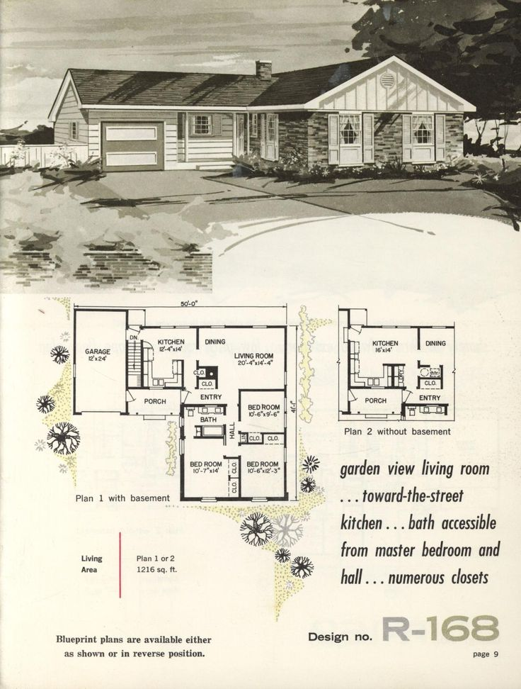 220 best images about vintage house plans 1960s on for 1960 ranch house plans