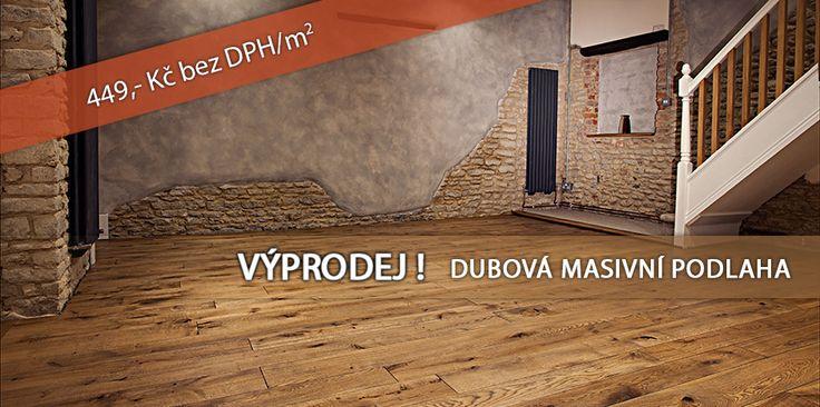 VÝPRODEJ DUBOVÝCH PODLAH http://podlahove-studio.com/prkna/1373-vyprodej-bez-povrchove-upravy-dubova-masivni-podlaha.html