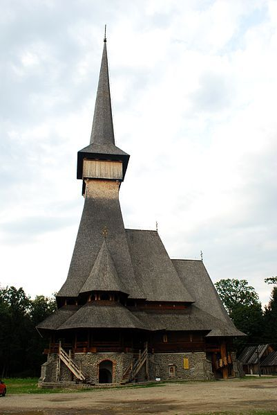 File:RO MM Sapanta Peri monastery 1.jpg Tallest church in Romania