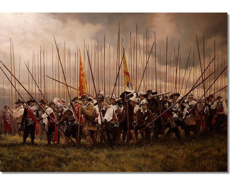 Battle of Nördlingen (1634) - Spanish Tercio in the hill of Albuch. Jose Ferre Clauzel.