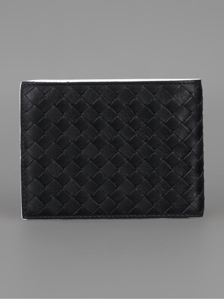 Bottega Veneta Bi-Colour Woven Wallet - Al Duca D'aosta - farfetch.com