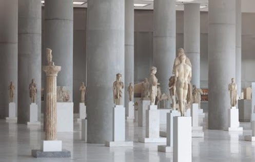 A Collaboration between Google and the Athens Acropolis Museum. With Google Art Project, you can wander around the Acropolis Museum and view the marbles, bronze, ceramic artworks and more. There is also a gigapixel image of the Acropolis most treasured piece, allowing viewers to zoom right in to brush-stroke levels of detail. This isn't to suggest that Art Project is a substitute for the gallery but it will give you a glimpse at the world's most significant and historical artifacts.