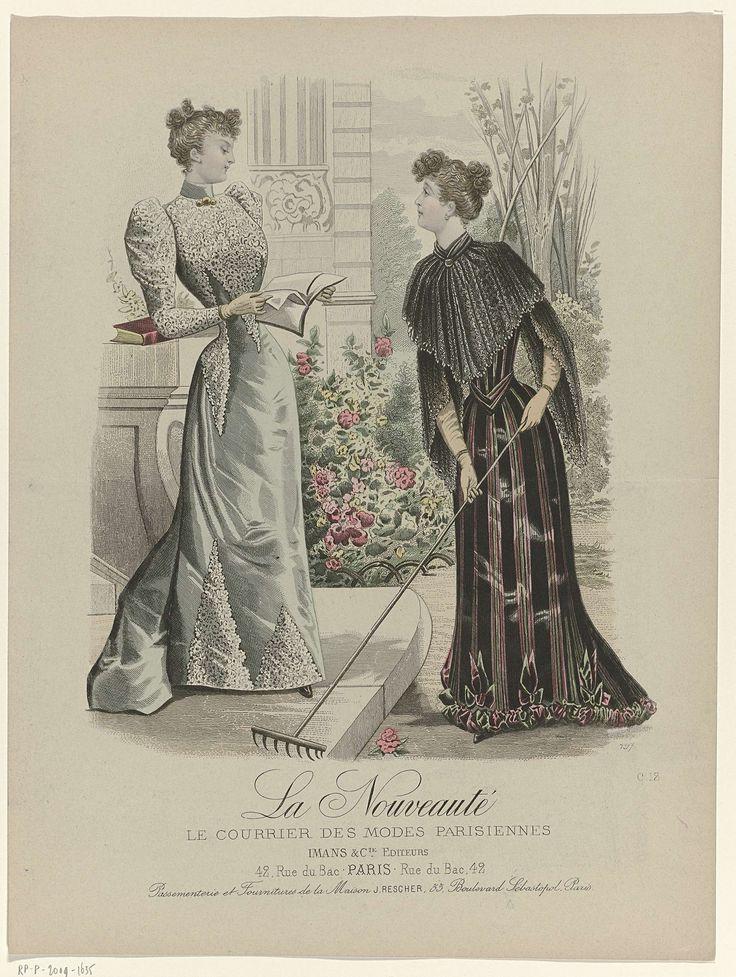 La Nouveauté, 1891, No. C12 : Passementerie et Fournitures