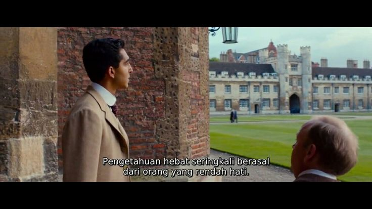 Be humble,kitipan film THE MAN WHO KNEW INFINITY