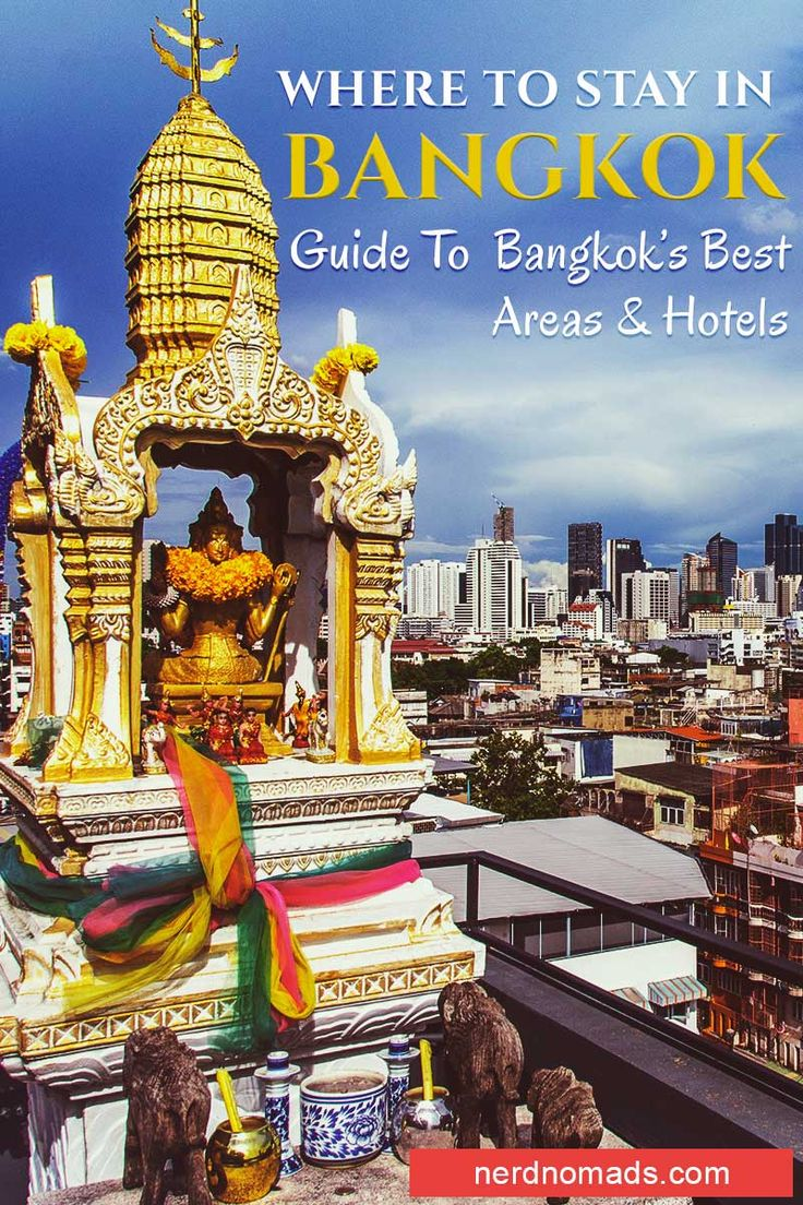 Bangkok is packed with hotels for any budget, but figuring out where to stay in Bangkok can be difficult. We reveal our favourite Bangkok areas and hotels!