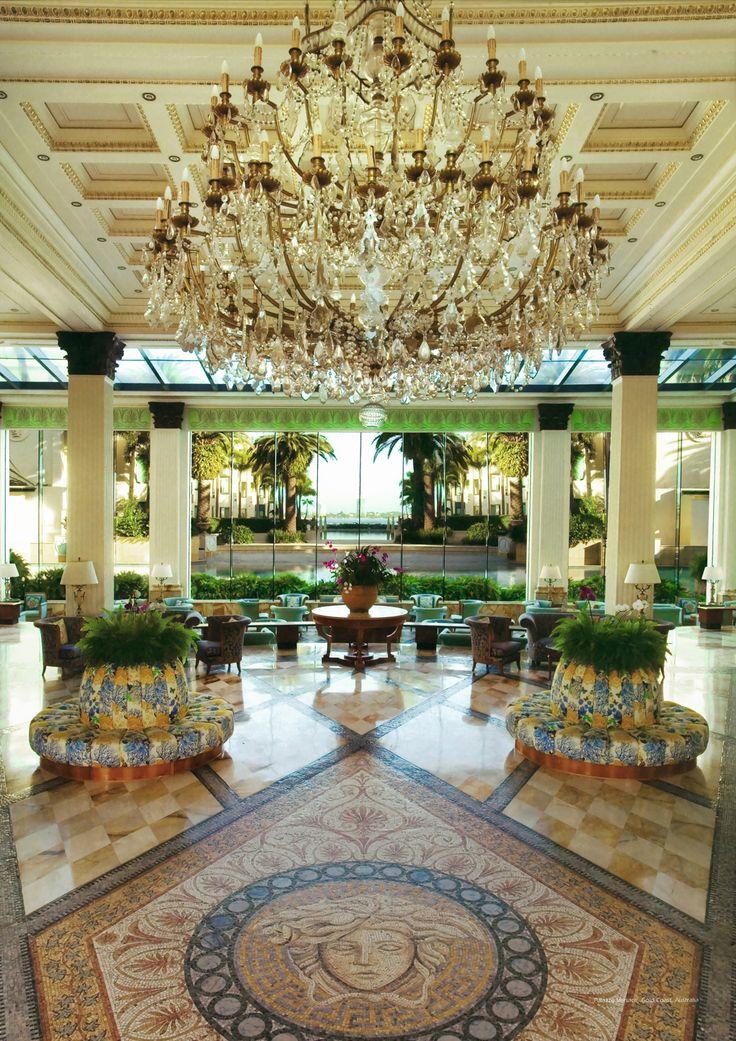 Foyer Chandelier - A world class 6-star low rise hotel and condominiums set around a marina, restaurants, grand ballroom and retail precinct. www.dbidesign.com.au