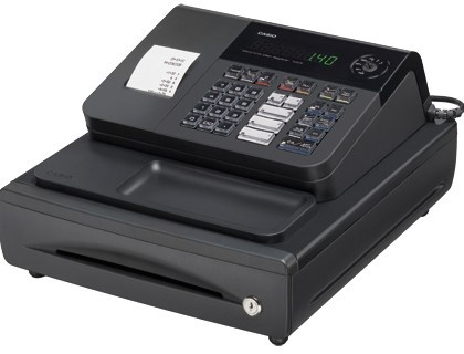 Registradora Casio 140-CR-BM. Cajon mediano.  http://www.20milproductos.com/maquinas-de-oficina/cajas-registradoras/registradora-casio-140-cr-bm-cajon-mediano-38682.html
