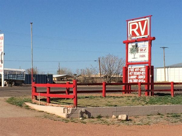 Desert Willow RV Park In Van Horn Texas