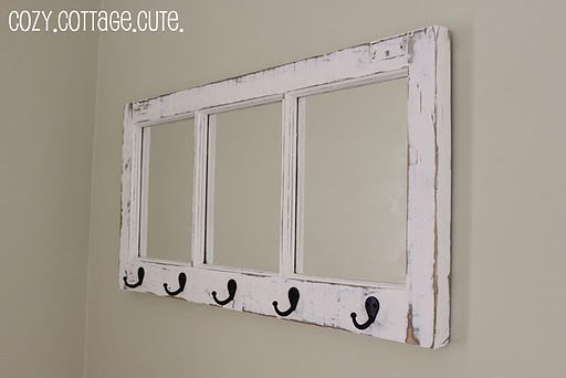 I could do this! Add mirrors and hooks...