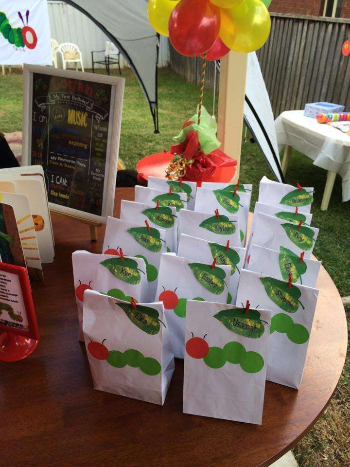 The Very Hungry Caterpillar Birthday Party Ideas | Photo 4 of 30 | Catch My Party
