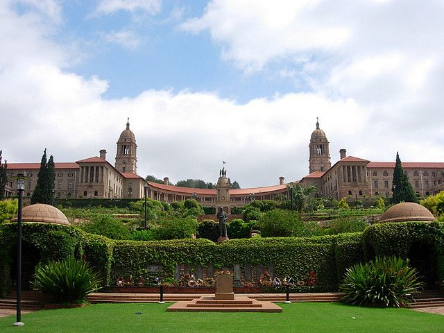 Union Buildings, Pretoria. Designed by Sir Herbert Baker.  January 2012
