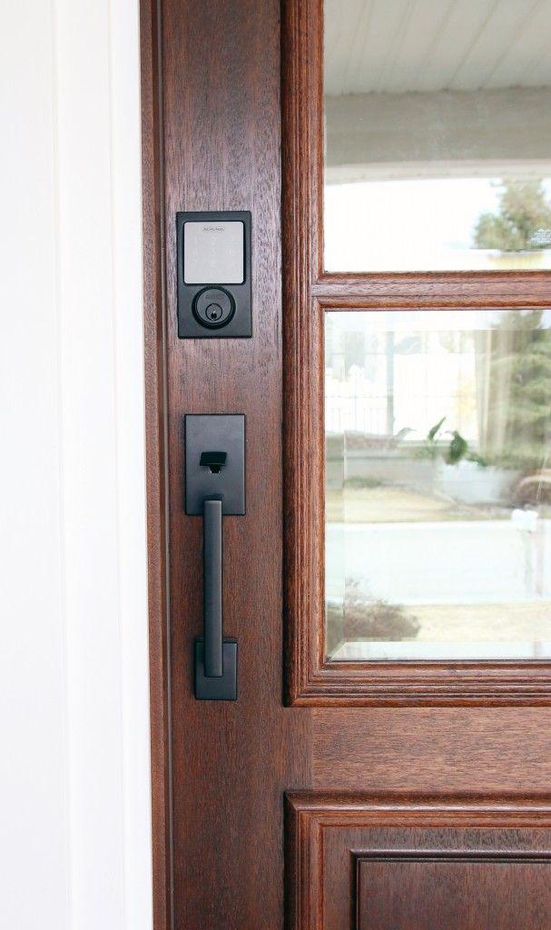 Sneak Peek At The New Front Door Schlage Giveaway Entry Door
