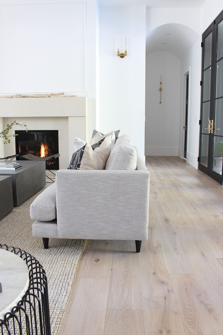 The House Of Silver Lining Our Sleek Minimalist Living Room