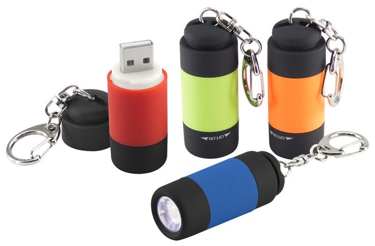 Linterna Llavero USB