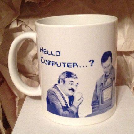 Scotty Hello Computer Star Trek Coffee Mug by sumotees on Etsy, $16.00